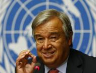 UN chief urges global leaders to create a 'world at peace'