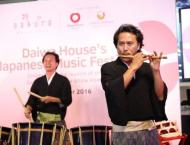 Japanese muscians enthrall locals