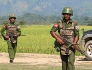 Fresh fires, bomb blast in Myanmar's Rakhine: gov't