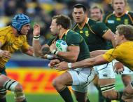 RugbyU: South Africa team to play Australia