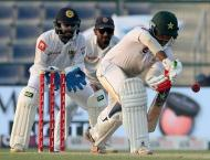 Cricket: Pakistan v Sri Lanka 1st Test scoreboard
