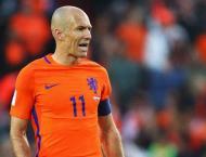 Football: Robben 'still believes' Dutch can qualify