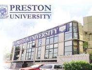 Preston University distributes ceretificates among winners of spo ..