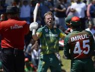 Cricket: South Africa v Bangladesh 2nd ODI scoreboard