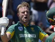 Cricket: Brilliant De Villiers blows away Bangladesh