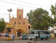 Sindh University  Safe University rally held at main campus