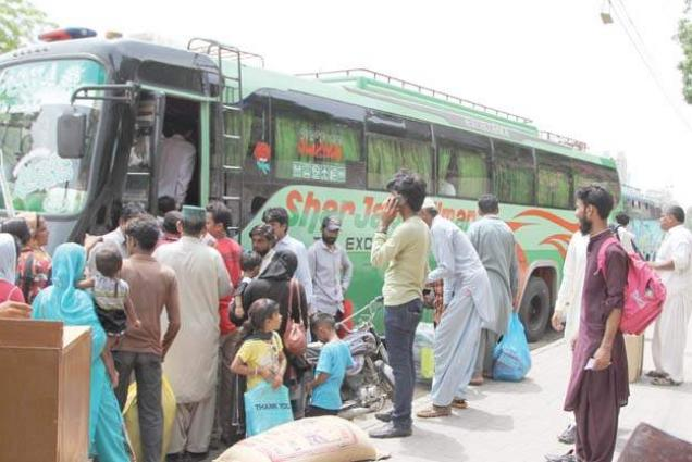 Massive Crackdown Against Illegal Bus Stands In Abbottabad