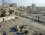 Anti-IS forces converge on Syria border town