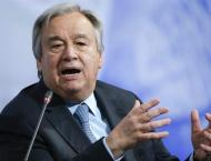 UN chief voices concern over Lebanese PM's resignation