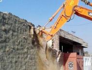 TMA Town-I conducts anti-encroachment, speed breakers