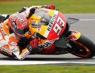 Motorcycling: Marquez storms towards title with Valencia pole