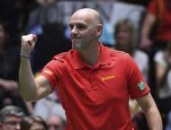 Tennis: No surprises for France, Belgium teams for Davis Cup fina ..
