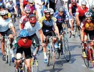 Cycling race from Karachi to Gwadar
