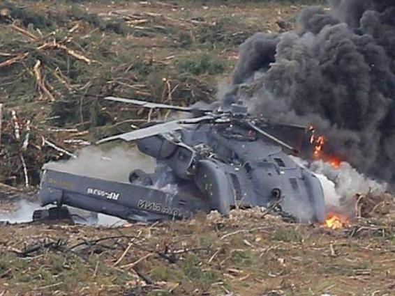 2 Killed In Russian Helicopter Crash - UrduPoint