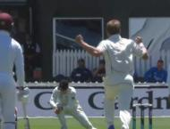 New Zealand 181-3 at lunch, lead West Indies by 47