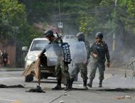 Clashes as Hondurans wait on poll result