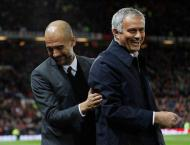 Football: Mourinho and Guardiola 'twinned' in hunt for glory