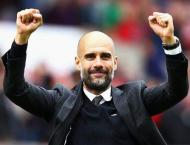 Football: Guardiola defends City celebrations after derby win