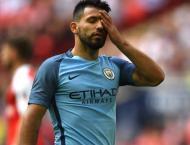Football: Guardiola lauds Man City 'legend' Aguero