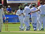 Cricket: Zimbabwe, bowled out for 68, forced to follow on