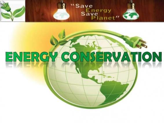 need and importance of energy conservation