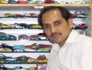 Lahore's Aamir Ashfaq possesses 5554 Dinky toy cars