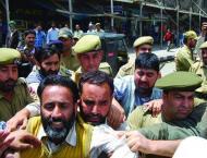 Indian police arrest Mukhtar Waza, Bilal Siddiqui in IOK