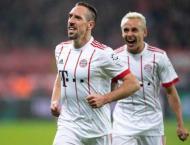 Football: Ribery strikes as Bayern go 14 points clear