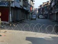 Restrictions in Srinagar to prevent demos