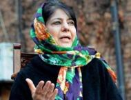 Mehbooba says over 9,000 injured in forces' action in 8 months
