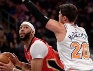 NBA: Davis delivers 48 points to power Pelicans over Knicks