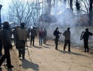 Indian troops martyr four youth in Baramulla