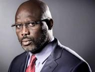 Weah sworn in as Liberian president, completes historic transitio ..
