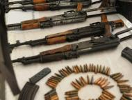 Police arrest 25 suspects, recover illegal arms