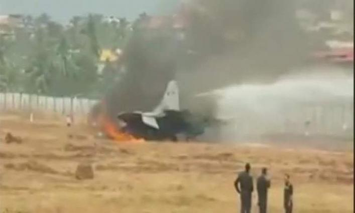 MiG-29 Fighter Jet Of Indian Navy Crashes - UrduPoint