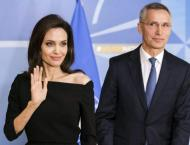 Jolie to work with NATO to combat sexual violence