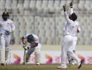 Bangladesh vs Sri Lanka second Test scoreboard