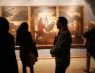 Iranian painting exhibition