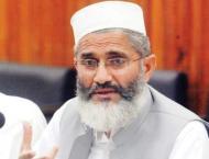 Siraj ul Haq slams KP police over Sharifan Bibi, Asma Rani cases