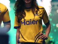 Defending Champions Peshawar Zalmi Launched their new kit in a sp ..
