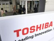 Toshiba tips return to black as it sells chip, nuclear units