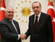 Tillerson meets Erdogan to ease Turkey tensions