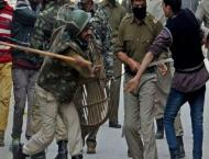 Indian troops launche cordon, search operations in IoK