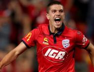 Adelaide fight back for draw with Mariners in A-League