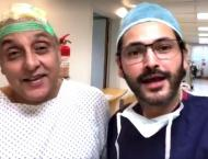 Actor Sajid Hasan to go through scalp reconstruction surgery afte ..