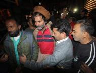 Hilal War visits Yasin Malik in Srinagar's Soura hospital