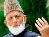 Syed Ali Gilani concerned over crackdown on youth in IOK