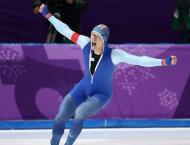 Record-breaking Lorentzen takes 500m speed skate gold