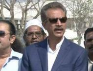 Mayor of Karachi Wasim Akhtar inaugurates renovated school buildi ..