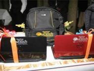 Laptop distribution ceremony on Feb 20